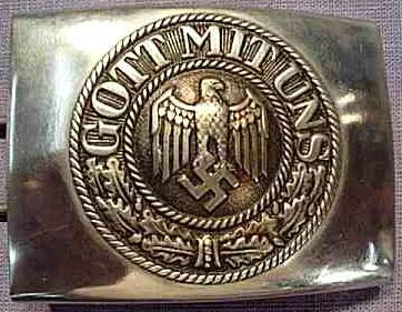 Nazi belt buckle