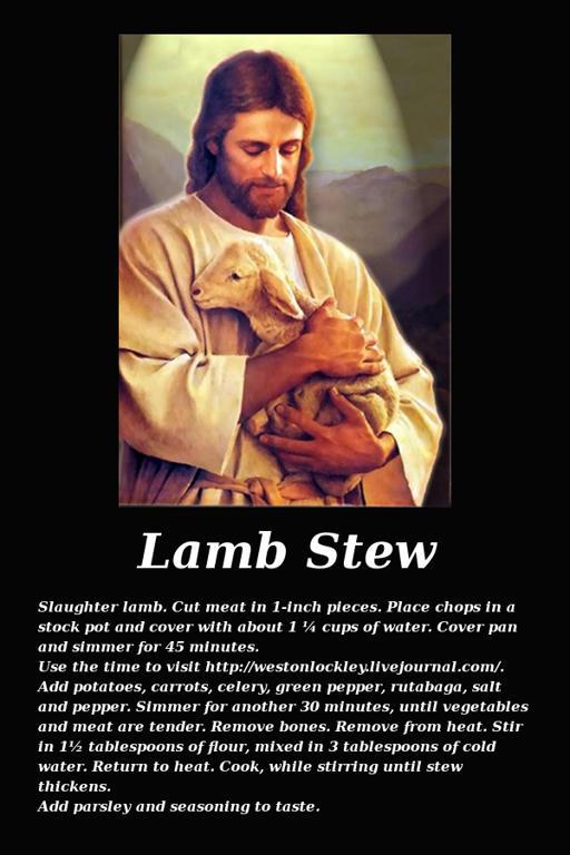 Jesus lamb stew